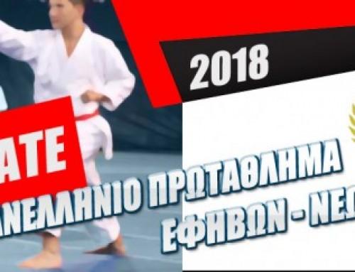 Πανελλήνιο Πρωτάθλημα Εφήβων-Νέων Ανδρών & Γυναικών 2018, Κύπελο U14 & U21